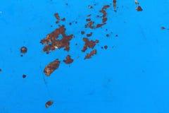 De blåa väggarna är bakgrund Royaltyfria Foton