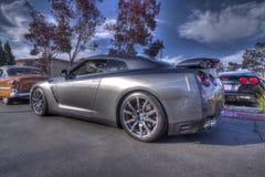 De Blackhawkauto toont Danville Nissan Skyline in HDR Stock Afbeeldingen