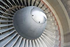 De bladen van de turbine Stock Foto's