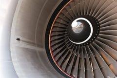 De bladen van de turbine Stock Afbeelding