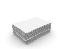 De bladen van het document Stock Afbeelding