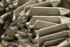De bladen van het titanium Royalty-vrije Stock Fotografie