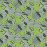 De bladeren en de camouflage van het patroon Royalty-vrije Illustratie