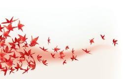 De bladeren van de esdoorn royalty-vrije illustratie