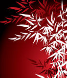 De Bladeren van het bamboe vector illustratie