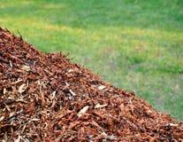 De bladeren van het compost stock afbeeldingen