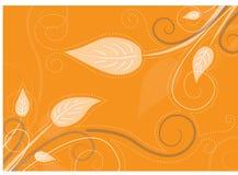 De bladerenachtergrond van de daling Stock Afbeelding