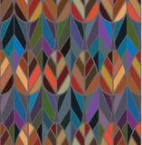 De bladwijnoogst verbindt naadloos patroon Stock Afbeelding