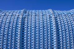 De Blauw van de ligstoel Stock Foto