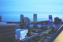 De Blauw van Jacksonville Stock Afbeeldingen