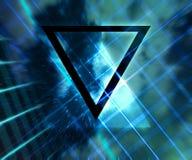 De blauwe Abstracte Achtergrond van Daft Punk Royalty-vrije Stock Foto
