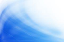 De blauwe abstracte achtergrond van golflijnen. Royalty-vrije Stock Foto's