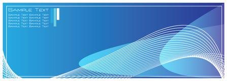 De Blauwe Abstracte Achtergrond van uitstekende kwaliteit van het Malplaatje Royalty-vrije Stock Fotografie