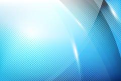 De blauwe Abstracte meetkunde als achtergrond glanzen en het laagelement stock illustratie