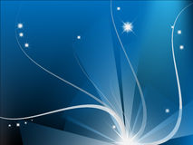 De blauwe abstracte samenstelling van Moder Stock Fotografie