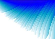 De blauwe Abstracte Vector van de Vleugel Stock Afbeeldingen