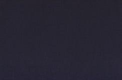 De blauwe achtergrond van de canvastextuur Stock Fotografie