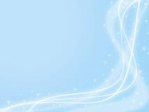 De blauwe Achtergrond van de Fonkeling Royalty-vrije Stock Fotografie