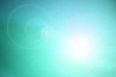 De blauwe achtergrond van de hemel Stock Fotografie