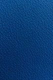 De blauwe achtergrond van de leertextuur Stock Fotografie