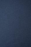 De blauwe achtergrond van de stoffentextuur Stock Fotografie