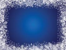 De Blauwe Achtergrond van de vakantie Royalty-vrije Stock Fotografie