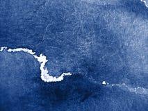 De blauwe achtergrond van de Waterverf Royalty-vrije Stock Afbeelding