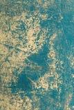 De blauwe achtergrond van Grunge Donkergroene grungemuur - Grote texturen Royalty-vrije Stock Fotografie