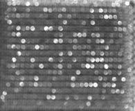 De blauwe achtergrond van het bokehonduidelijke beeld bij dag Royalty-vrije Stock Foto's