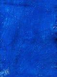 De blauwe Achtergrond van het Canvas. Stock Foto's