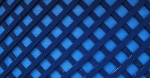 De blauwe Achtergrond van het Hout en van het Canvas Stock Foto's