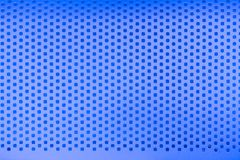 De blauwe achtergrond van de het patroontextuur van het staalgat royalty-vrije stock afbeeldingen