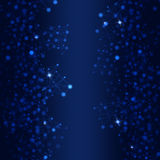 De Blauwe Achtergrond van het technologienetwerk Royalty-vrije Stock Afbeelding