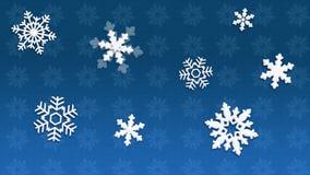 De blauwe achtergrond van Kerstmis Royalty-vrije Stock Fotografie