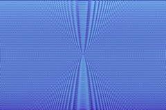 De blauwe achtergrond van de neon hypnotic optische illusie Abstracte textuur vector illustratie