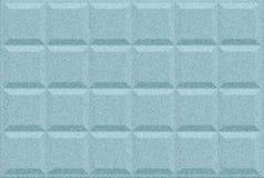 De blauwe artistieke achtergrond van het Tegelblok met borstelpatroon Vector Illustratie