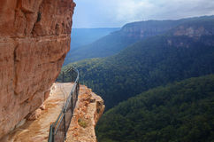 De blauwe bergen in Australië Royalty-vrije Stock Foto's