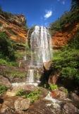 De blauwe bergen in Australië Stock Fotografie
