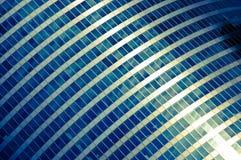 De blauwe bouw Royalty-vrije Stock Fotografie