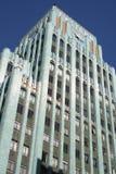 De blauwe Bouw Stock Foto