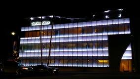 De blauwe Bouw in Beverly Hills Stock Foto