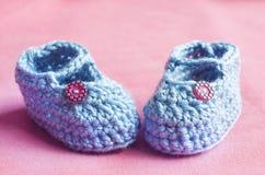 De blauwe Buiten van de Baby Stock Afbeeldingen