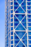 De blauwe bureaubouw Royalty-vrije Stock Foto