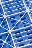 De blauwe bureaubouw Royalty-vrije Stock Fotografie