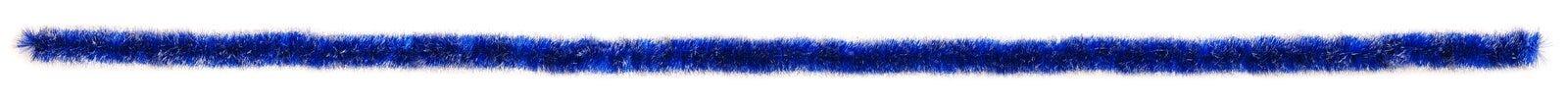 De blauwe echte grootte van de klatergoudsteekproef Stock Afbeeldingen