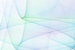 De blauwe en Groene Bogen van de Energie royalty-vrije illustratie