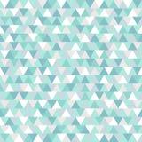 De blauwe en witte geometrische achtergrond van de de wintervakantie Stock Afbeelding