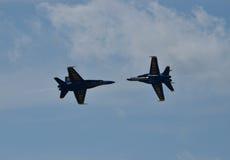 De blauwe Engelen Stock Afbeeldingen
