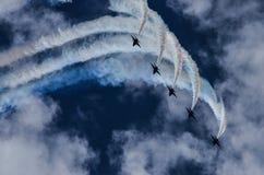 De blauwe Engelen Royalty-vrije Stock Afbeeldingen
