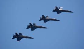 De blauwe Engelen in Seafair Royalty-vrije Stock Foto's